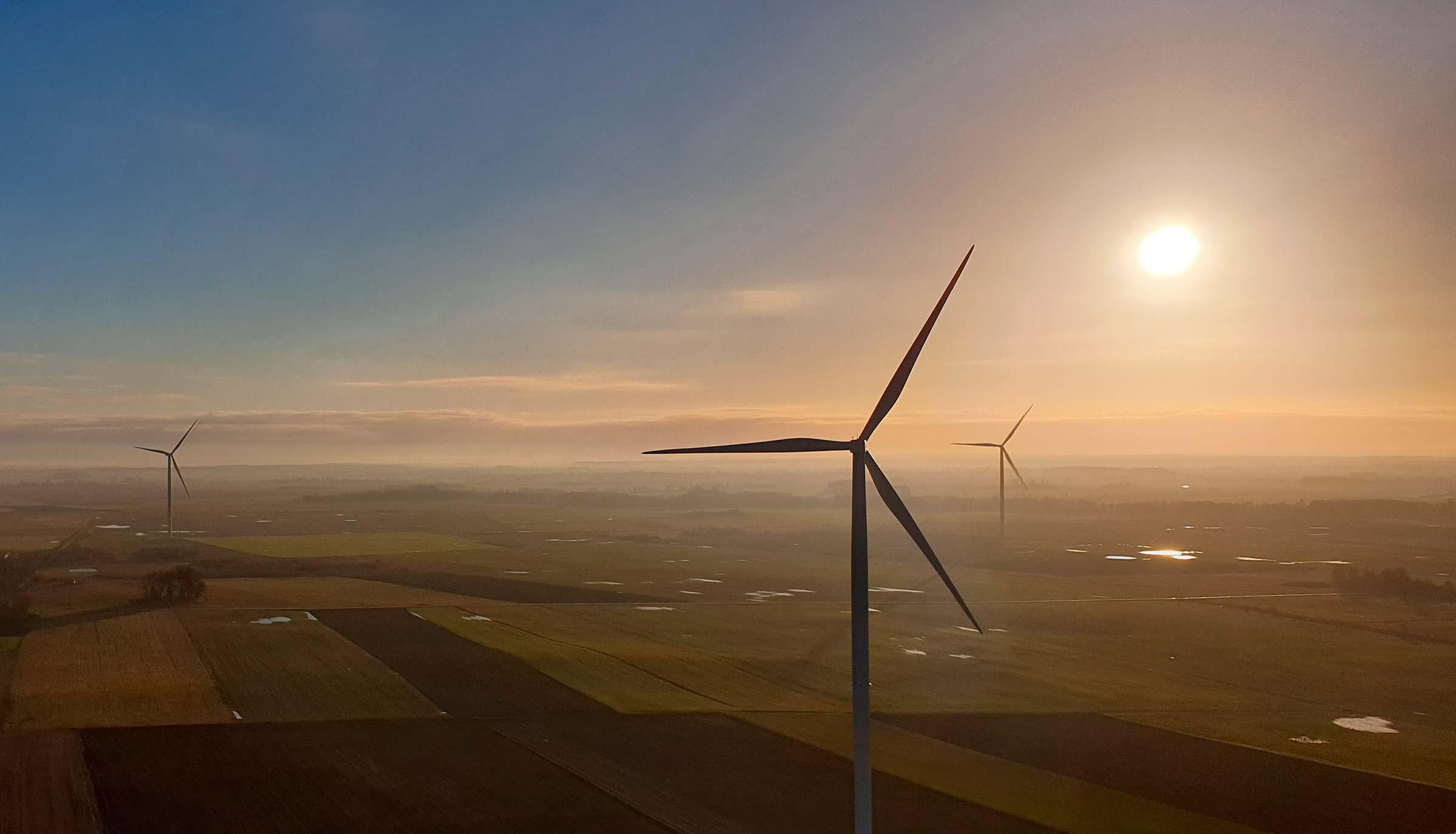 Vėjo jėgainių paslaugos